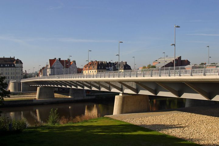 Regensburg Nibelungenbrücke