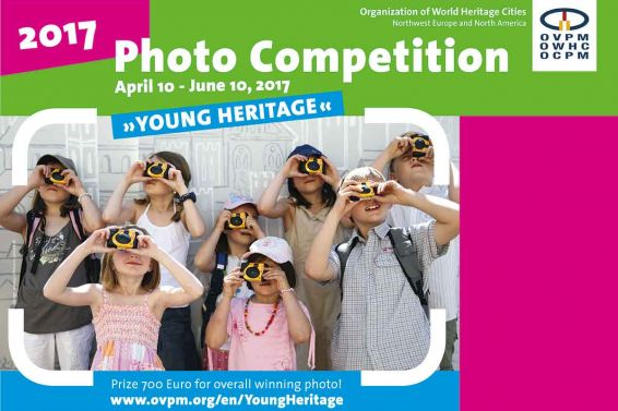 Plakat Fotowettbewerb Young Heritage 2017