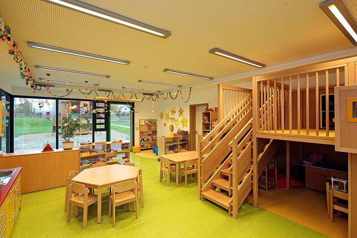 stadt regensburg amt f r hochbau neubau kindergarten harting. Black Bedroom Furniture Sets. Home Design Ideas