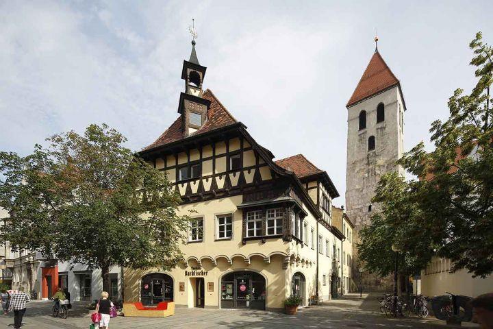 Regensburg Fußgängerzone