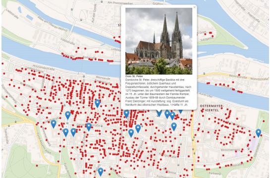 Karte Regensburg Altstadt.Stadt Regensburg Welterbe Welterbe Regensburg