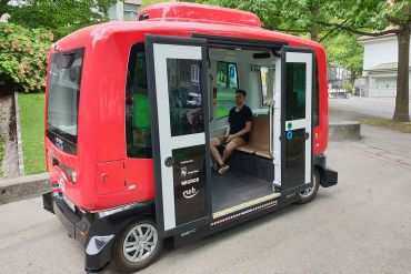Autonomer Bus People Mover Bern