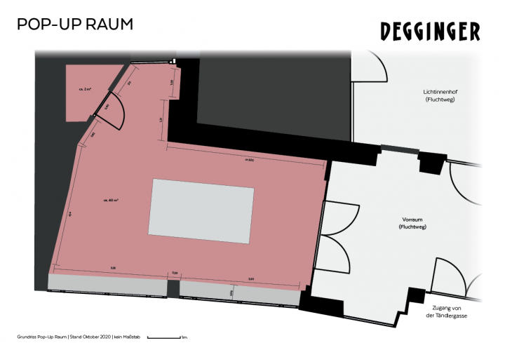 Pop-Up Raum